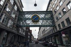 Street of copenahagen Royalty Free Stock Image