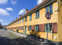 Street in Copenhagen Royalty Free Stock Photo