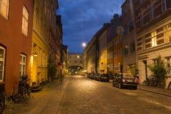 Street in Copenhagen Stock Image