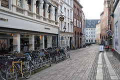 Street in Copenhagen Stock Photography