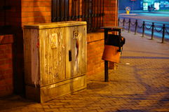 Street corner Stock Images