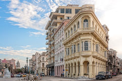 Street Corner in Old Havana, Cuba Stock Photo