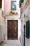 Street corner in Venice Stock Photography
