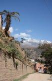 Street of Sorata, Bolivia, South America Stock Images