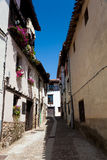 Street of Covarrubias Royalty Free Stock Photos