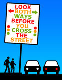 Street crossing Royalty Free Stock Image