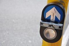 Street Crossing. Taken in New Zealand stock image