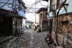 Street in Cumalikizik Village, Bursa, Turkey Stock Image