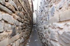 Street in Cumalikizik Village, Bursa, Turkey Royalty Free Stock Photography