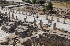 Street of Curetes Stock Photography