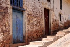 Street in Cusco Stock Photo