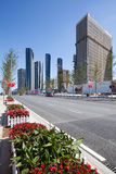 A street in the dalian city Royalty Free Stock Image
