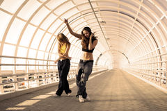 Street dance Royalty Free Stock Images