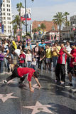 Street dance. Stock Image