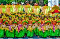 Street Dance. Buglasan Festivel, Negros Oriental Philippines Stock Photos
