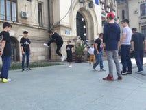 Street dance Craiova uptown Stock Photography