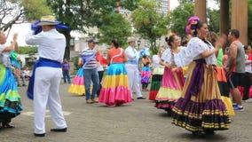 Street dance in San Jose, Costa Rica