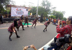 Street dance Stock Photo