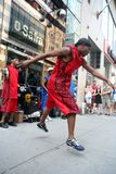 Street dancer Royalty Free Stock Photo