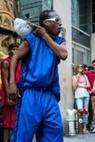 Street dancer Royalty Free Stock Image