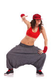 Street dancer in a cool pose Royalty Free Stock Images