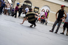 Street Dancer Royalty Free Stock Images