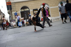 Street Dancer Stock Image