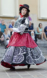Street dancer in Italy Stock Photos