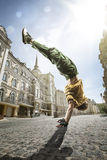 Street dancer royalty free stock photo