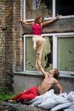 Street dancers Royalty Free Stock Photo