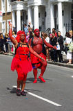 A street dancers at London Notting Hill Carnival Stock Photos