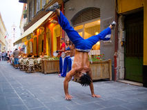 Street dancers in Nice Stock Photos