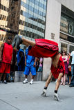 Street dancers Stock Image
