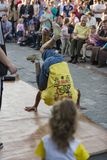 Street dances in the city royalty free stock photo