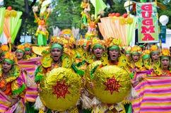 Street Dancing. Buglasan Festival, Negros Oriental Philippines Stock Photo
