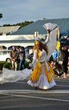 Street dancing woman Royalty Free Stock Photo