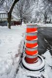 Street danger sign Stock Image
