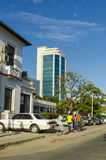 Street Dar es Salaam Royalty Free Stock Photography