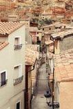 Street. In Daroca. Aragon. Spain Stock Image
