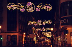 Street decoration in Albacete Stock Photos