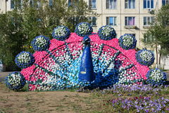 Street decoration in Astana Royalty Free Stock Images