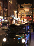 Street decoration at Chinatown London UK Royalty Free Stock Image