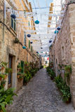 Street decoration in Valldemossa Royalty Free Stock Photography