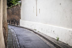 Street detail in the downtown of Toulouse France Royalty Free Stock Photography