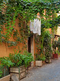 Street detail in Italy stock photography