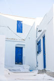 Street detail at Serifos island, Greece Royalty Free Stock Images
