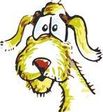 Street Dog. Sketch art cartoon vector illustration