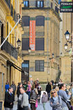 Street of Donosti (Euskadi) Stock Photos