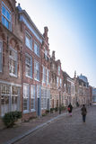Street. In Dordrecht, Netherlands Royalty Free Stock Photo