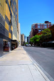 Street in the downtown San Antonio, texas. View of downtown in San Antonio, midday, buildings and traffic Stock Photo